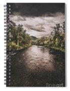 Stormy Streams Spiral Notebook