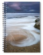 Stormy Sunrise Spiral Notebook
