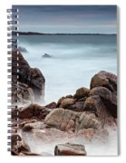 Stormy Sunset Beach Spiral Notebook