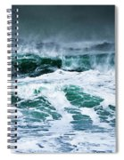Stormy Waves Spiral Notebook