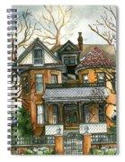 Stormy Winter Skies Spiral Notebook