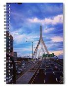 Stormy Zakim Spiral Notebook