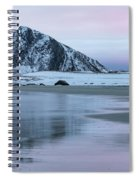 Storsandnes, Lofoten - Norway Spiral Notebook