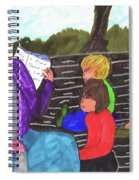 Story-time On Grand Mom's Porch Spiral Notebook
