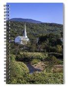 Stowe Vermont Spiral Notebook