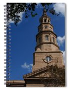 St.philips Church Charleston Sc Spiral Notebook