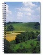 Stradbally, Co Laois, Ireland Church Spiral Notebook