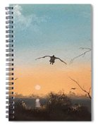 Straight Ahead Spiral Notebook