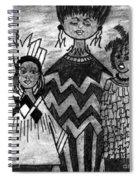 Straight Up Spiral Notebook