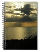 Strandhill Co Sligo Ireland Spiral Notebook