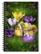 Strange Bunnies Spiral Notebook