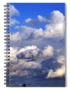 Strange Clouds Spiral Notebook
