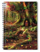 Strange Dreams 3 Spiral Notebook