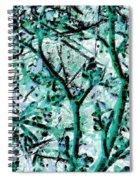 Strange Forest In Springtime Spiral Notebook