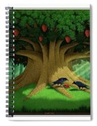 Strange Fruit Spiral Notebook