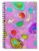 Strange Galaxy Spiral Notebook