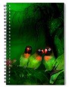 Strange Love Spiral Notebook