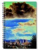 Strange Spokane Storm Spiral Notebook