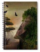 Stranger In The Forest Spiral Notebook