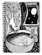 Strangers In Bathtubs Spiral Notebook