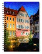 Strasbourg 1 Spiral Notebook