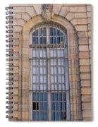 Strasbourg Window 08 Spiral Notebook