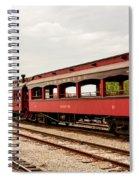 Strasburg Passenger Cars Spiral Notebook