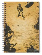Strategy Of Wars Spiral Notebook