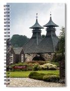 Strathisla Whisky Distillery Scotland Spiral Notebook