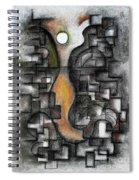 Stratified Breeze Spiral Notebook