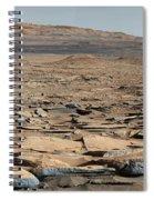 Stratified Rock On Mars Spiral Notebook