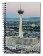 Stratosphere Casino Hotel And Tower Spiral Notebook