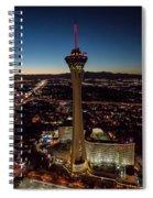 Stratosphere Casino Hotel  Spiral Notebook