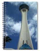 Stratosphere Tower Spiral Notebook