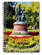 Strauss In Flowers Spiral Notebook