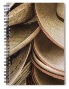 Straw Hats Spiral Notebook