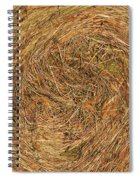 Straw Spiral Notebook