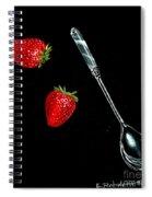 Strawberries Anyone Spiral Notebook