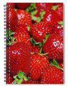 Strawberries Spiral Notebook