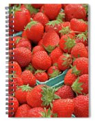 Strawberries Jersey Fresh Spiral Notebook