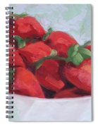 Strawberries Spiral Notebook