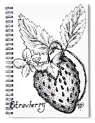 Strawberry Dreams Spiral Notebook