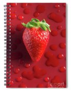 Strawberry Fresh One Spiral Notebook