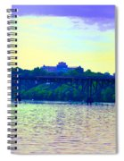 Strawberry Mansion Bridge Across The Schuylkill River Spiral Notebook