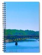 Strawberry Mansion Bridge From Laurel Hill Spiral Notebook