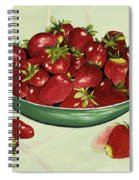 Strawberry Memories Spiral Notebook
