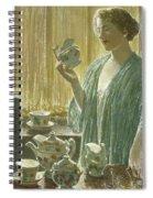 Strawberry Tea Set, 1912 Spiral Notebook