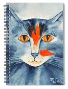 Stray Cat Spiral Notebook