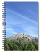 Streaked Sky Spiral Notebook