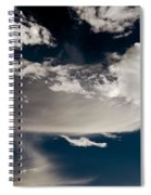 Streakin' Cloud Spiral Notebook